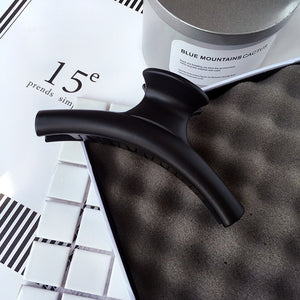 Minimal Matte Acrylic Hair Clip  - ART GOODS SHOP