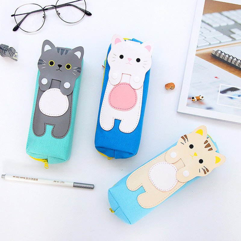 Cartoon Cat pencil case stationery - ART GOODS SHOP