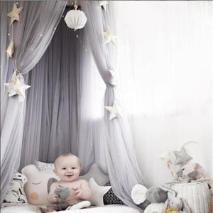 [6Colors] Hanging Kids Baby Bedding Dome Bedcover Curtain For Baby Kids Playing Home Decor Photography Prop - ART GOODS SHOP