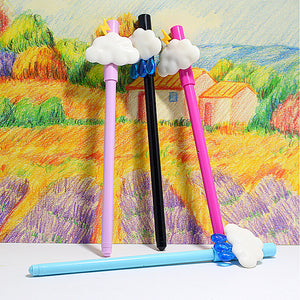 [4Pcs/set] Creative Clouds Cute Gel Pen Korean Stationery - ART GOODS SHOP