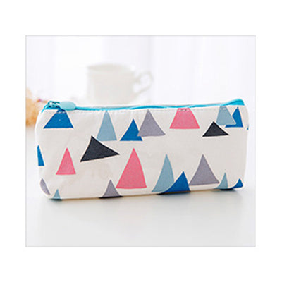 Cute Abstract Art Canvas Pencil Case Stationery Bag - ART GOODS SHOP