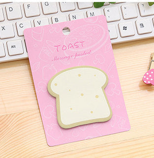 Breakfast egg toast sushi Sticky Notes Memo Pad - ART GOODS SHOP