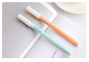 [3pcs/set] Cool Gentle Design Gel Pens Set  - ART GOODS SHOP