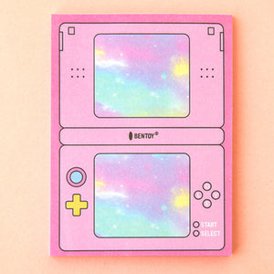 Computer Game Machine Cute Sticky Notes Memo Pad stationery - ART GOODS SHOP