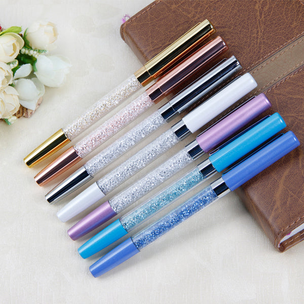 Luxury Metalic Crystal Diamond Ball Pen Stationery Refill - ART GOODS SHOP