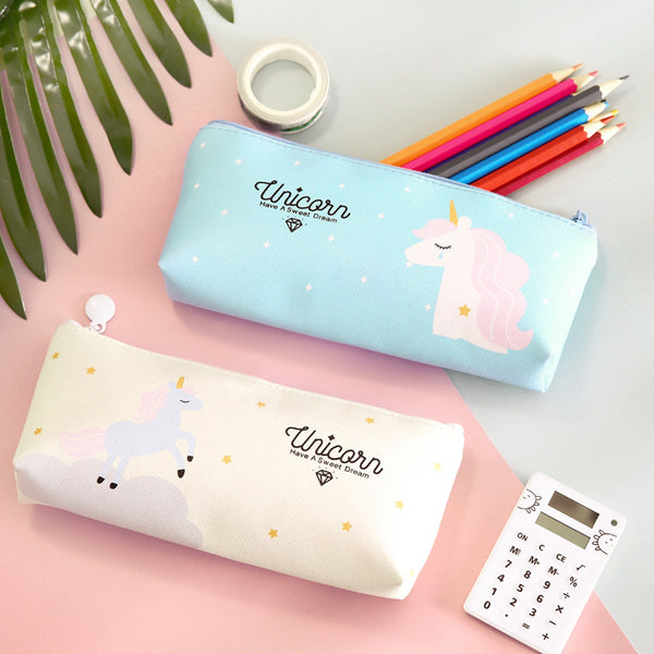 Unicorn Pencil Stationery Bag - ART GOODS SHOP