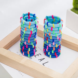 Colorful Hair Rubber Bands Pack / 24pcs - ART GOODS SHOP