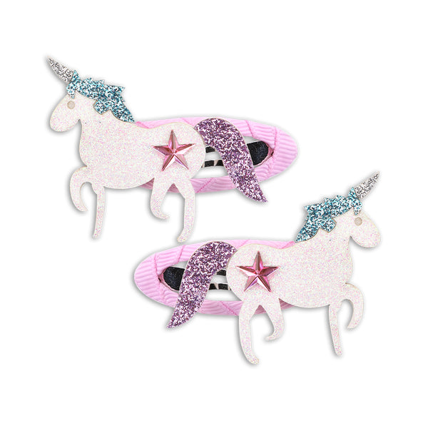 1 Pair Unicorn Party Hair Clip for Girls - ART GOODS SHOP
