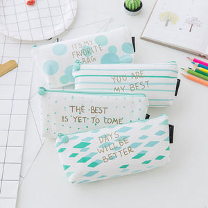 Kawaii stationery zipper pencil case - ART GOODS SHOP