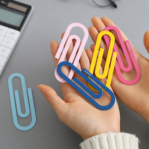 [2pcs/set] Big Paper Clips Size L 100*30mm Office Supplies