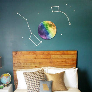 3D wall stickers Creative Earth glow in the dark stars wall stickers for kids rooms - ART GOODS SHOP