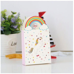 [10pcs/Set] Unicorn Rainbow Gift Box Party - ART GOODS SHOP