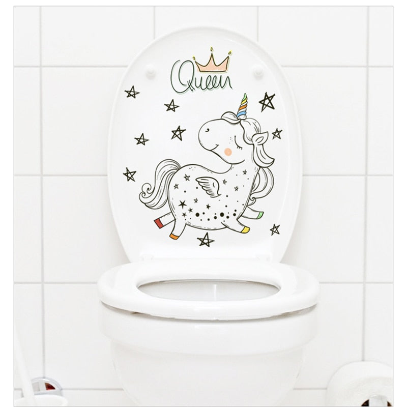 Cute Cartoon Unicorn Mini Wall sticker Art Wall Stickers - ART GOODS SHOP
