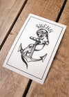otter small card//petite carte loutre