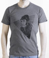 heather grey teeshirt printed in Montreal sailor fisherman face visage marin pêcheur cigarette smoking sketch