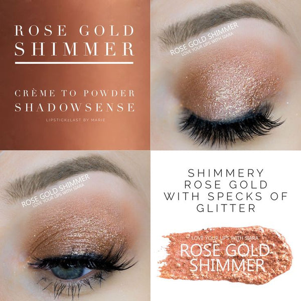 Rose Gold Shimmer Limited Edition Shadowsense