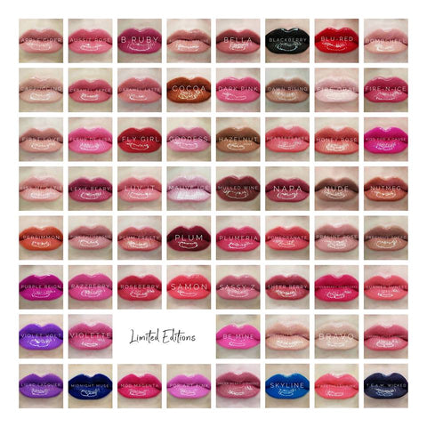 LipSense Colors 2018