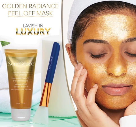 Golden Radiance Peel-Off Mask Collection