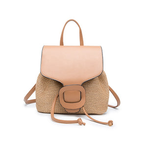 Beach Straw Backpack Purse - The Audacious Boutique