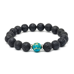Earth Stone - Oil-Diffuser Bracelet