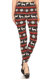 Women's Christmas Print Buttery Soft Various Patterns - The Audacious Boutique