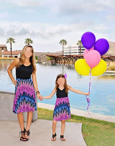 Mommy and Me Sleeveless Dresses - The Audacious Boutique