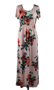 Mommy and Me Maxi Dresses Various Colors - The Audacious Boutique