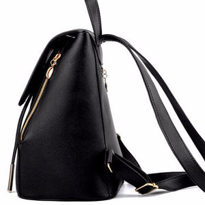 Black Backpack Purse - The Audacious Boutique