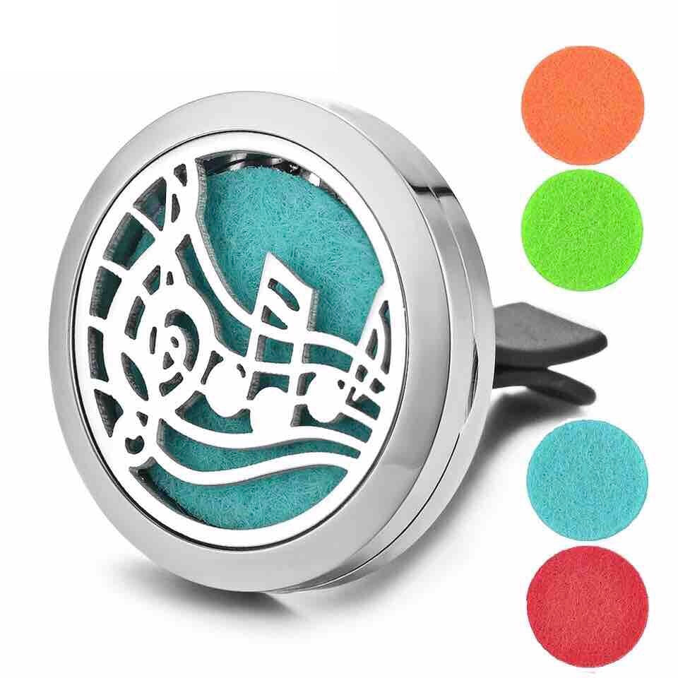 Aromatherapy Car Diffuser Essential Oils Stainless Steel Tree Of Life - The Audacious Boutique