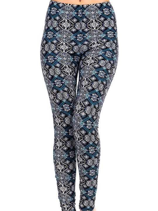The Sparkle Printed Women Leggings (XS-L)