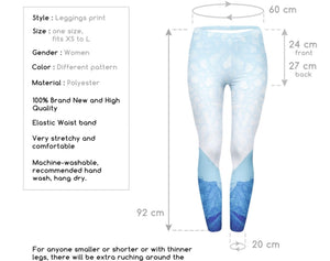 Blissful Printed Women Leggings (XS-L) - The Audacious Boutique