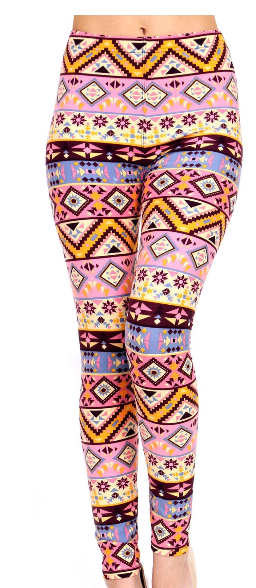 Spring Time Printed Women Leggings - The Audacious Boutique
