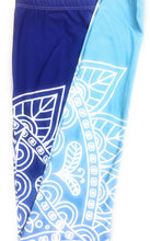 Blue Fade Printed Women Leggings (XS-L) - The Audacious Boutique