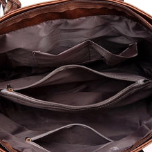 WEIMEIBAIGE OVERSIZED LEATHER TOTE - The Audacious Boutique