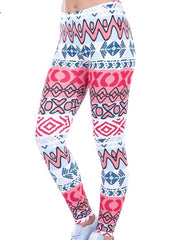 XOXO Printed Women Leggings XS L - The Audacious Boutique