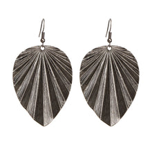 Metal Leaf Dangle Drop Fashion Earrings - The Audacious Boutique