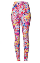 Rainbow Blast Printed Women Leggings - The Audacious Boutique