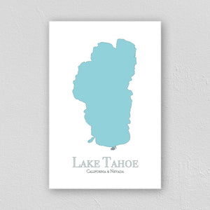 Lake Tahoe Wall Print