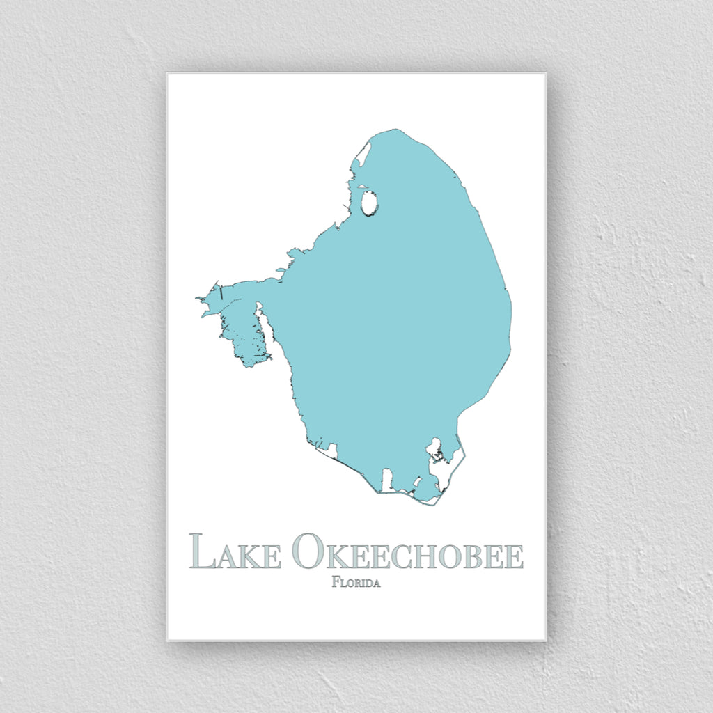 Lake Okeechobee Wall Print