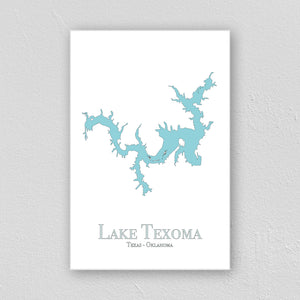Lake Texoma Wall Print