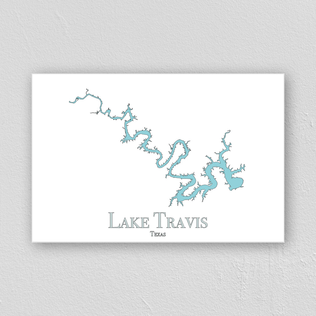 Lake Travis Wall Print