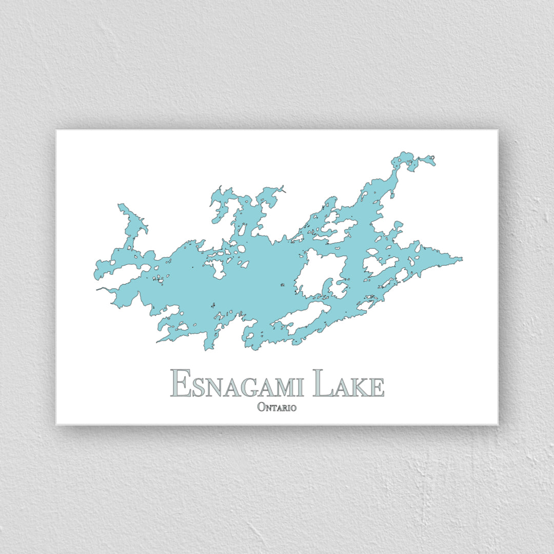 Esnagami Lake Wall Print