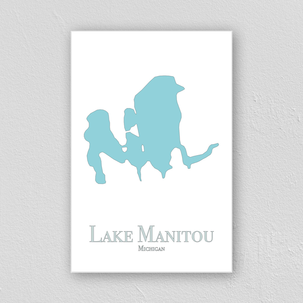 Lake Manitou Wall Print
