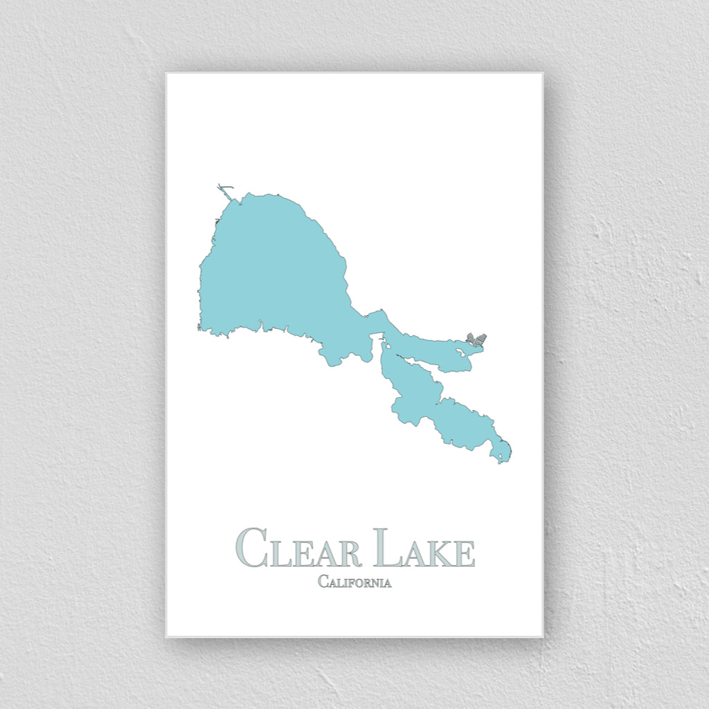 Clear Lake Wall Print