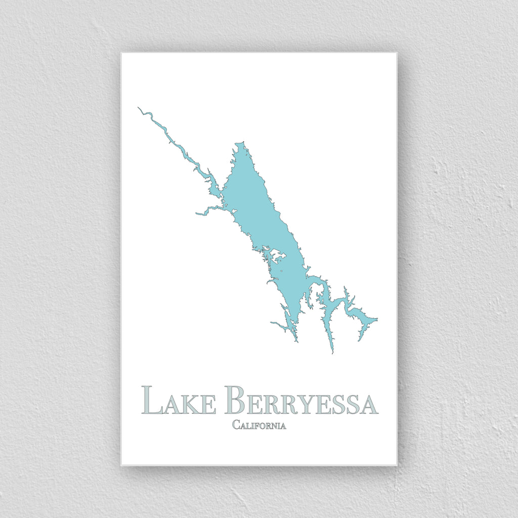 Lake Berryessa Wall Print