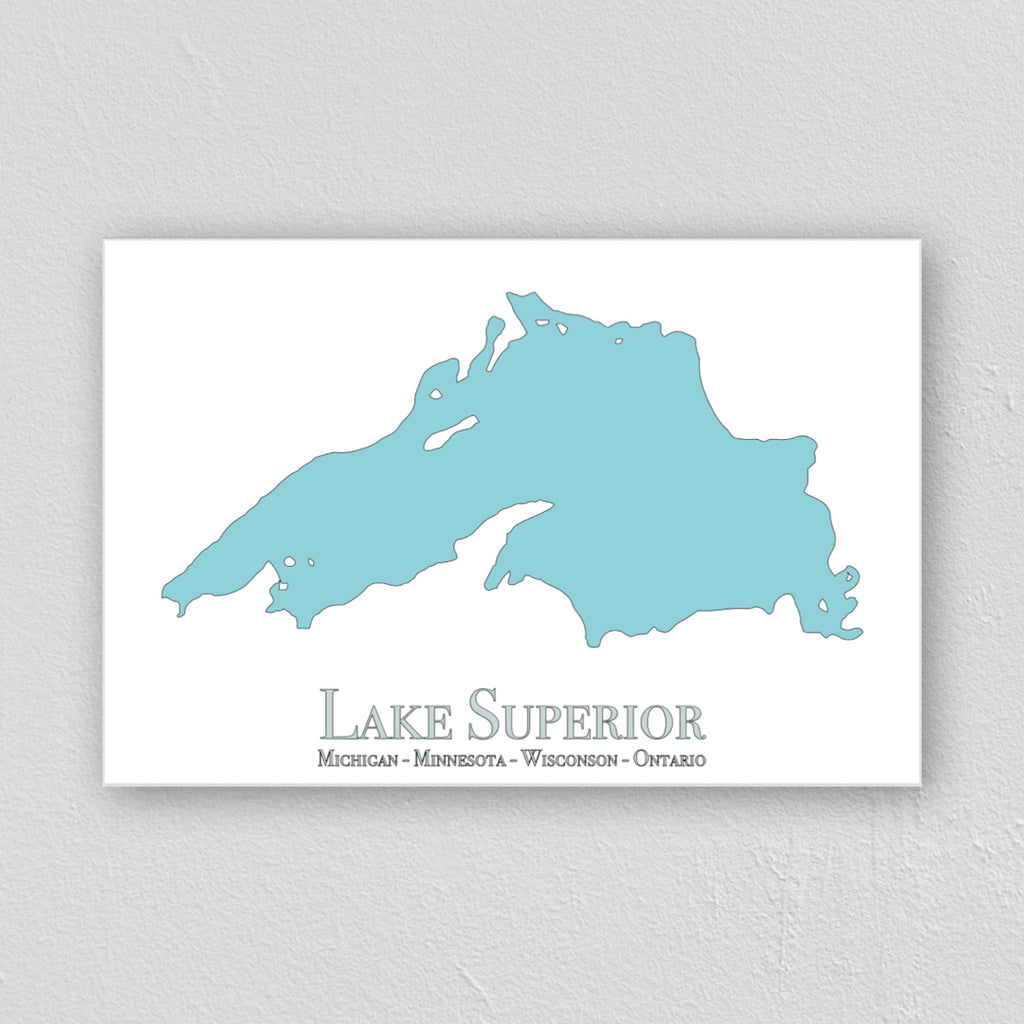 Lake Superior Wall Print