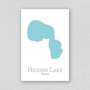 Higgins Lake Wall Print