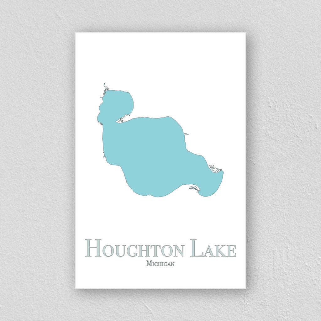 Houghton Lake Wall Print
