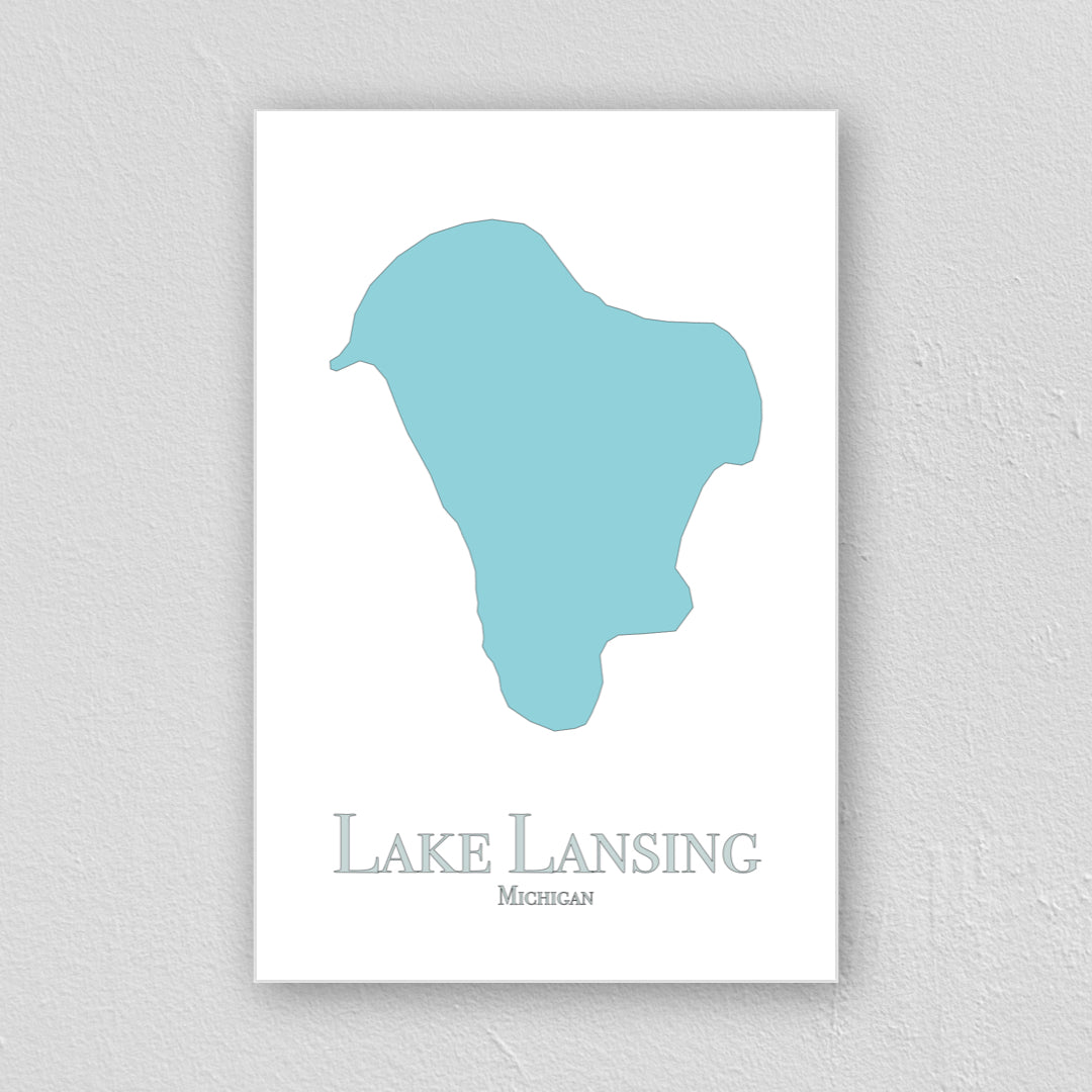 Lake Lansing Wall Print