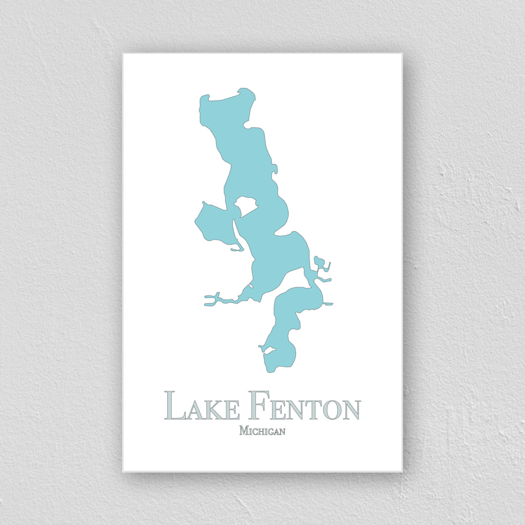 Lake Fenton Wall Print